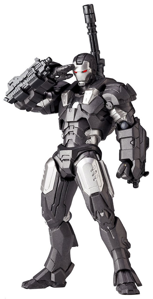 鋼鐵人的好搭檔來了!~ 海洋堂 迷你輪轉可動 – rm-006:戰爭機器