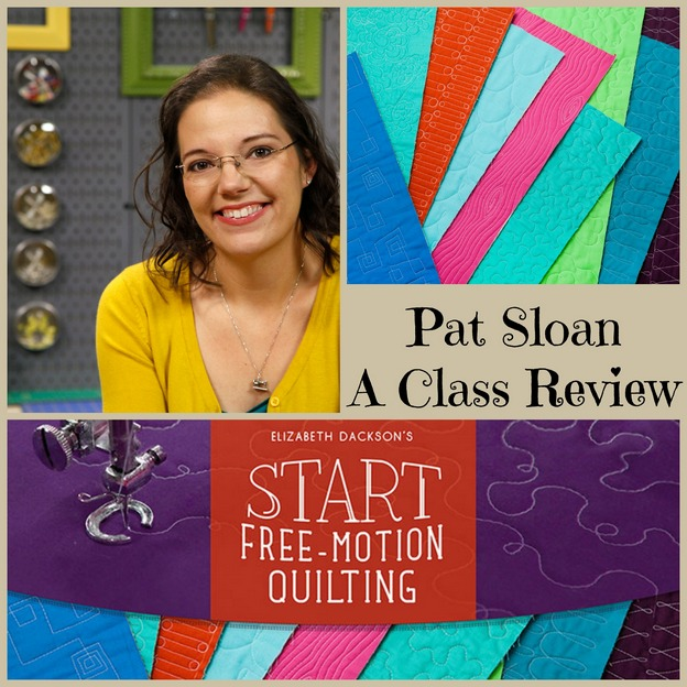 pat sloan freemotion craftsy class review