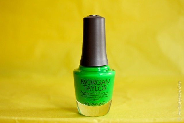 Morgan Taylor Go For The Glow