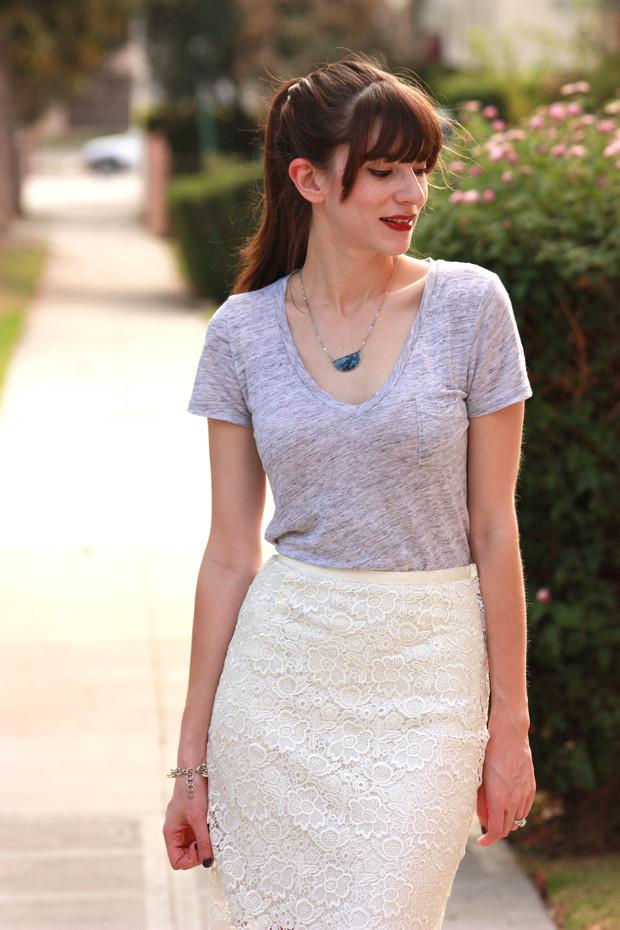 InfinEight, lace skirt