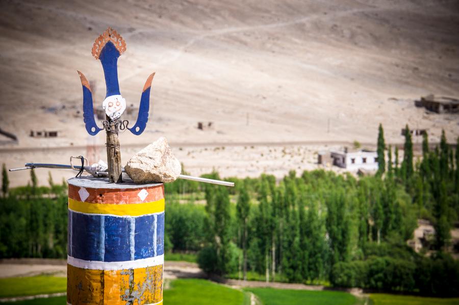 На крыше монастыря.. Монастыри Ладакха (Монастыри малого Тибета) © Kartzon Dream - авторские путешествия, авторские туры в Ладакх, тревел фото, тревел видео, фототуры