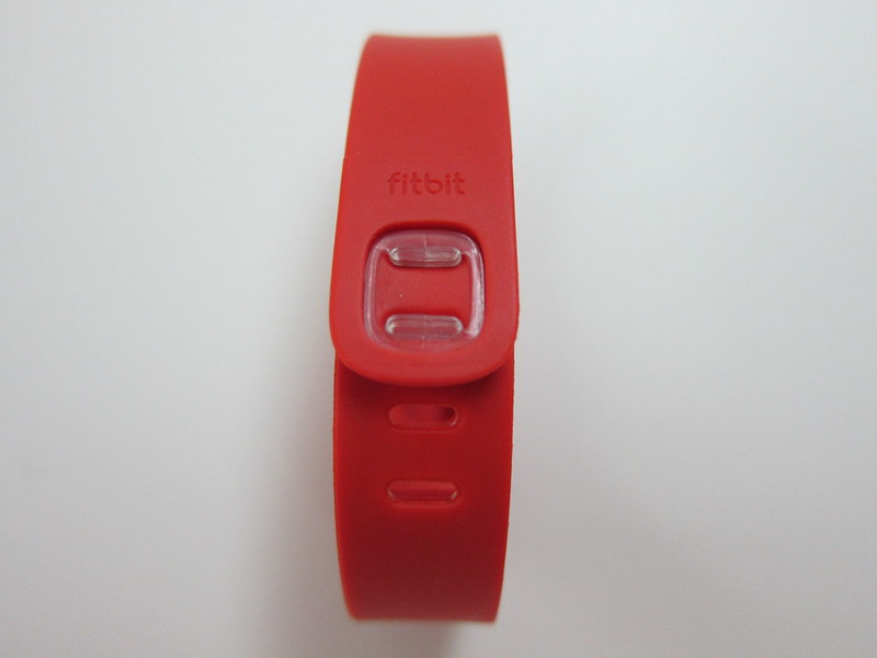 Fitbit Flex Accessory Wristbands - Tangerine - Back