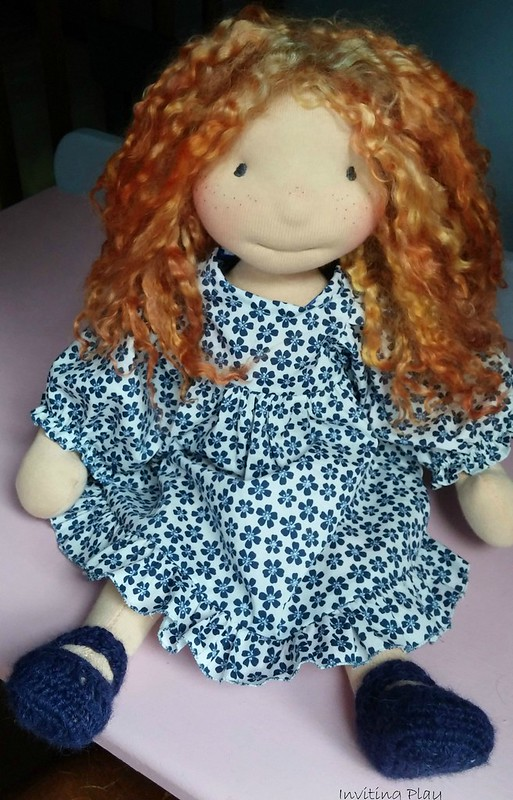 "Harriet Inviting Play 18"" Red Headed Love"