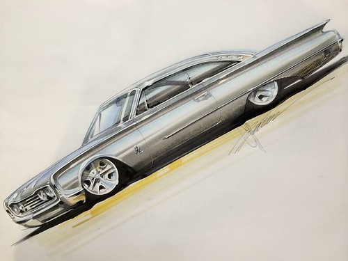 1960 Ford by Chip Foose (May have our Parts on it)