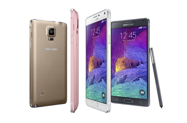 The GALAXY Note4 family