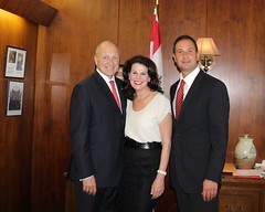 Meeting with Premier Ghiz
