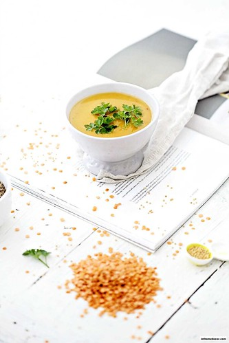 Recipe Easy Spicy Red Lentil Soup