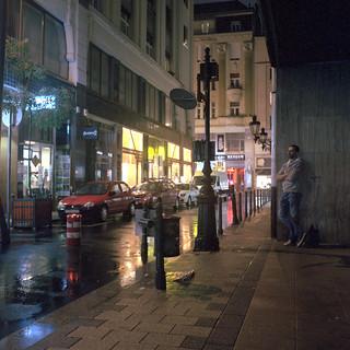 Budapest nocą