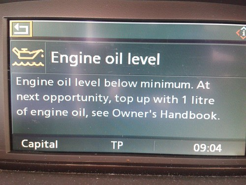 Engine Oil Level Low