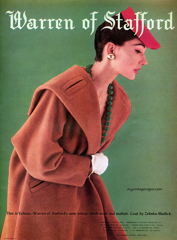 Coat by Zelinka-Matlick 1954