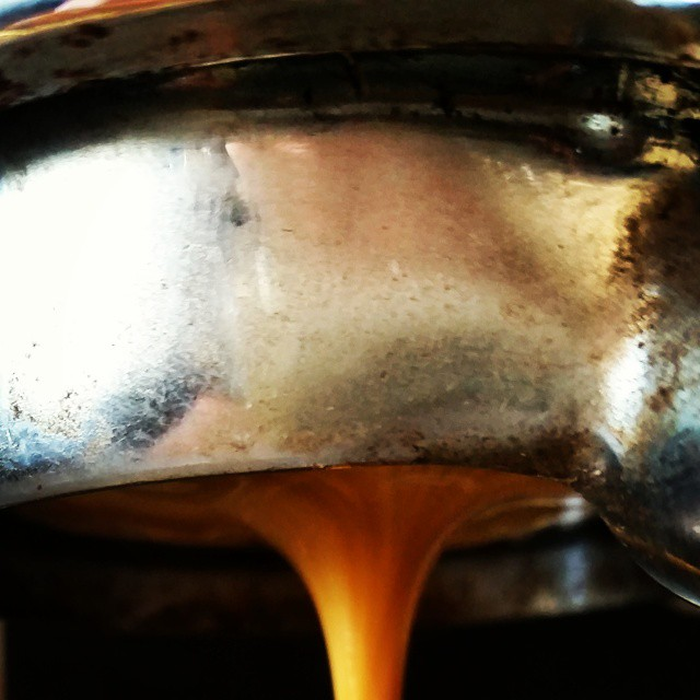 The Agreeable German espresso is On Tap. Come have some! #espresso #coffee #caffedbolla #slc