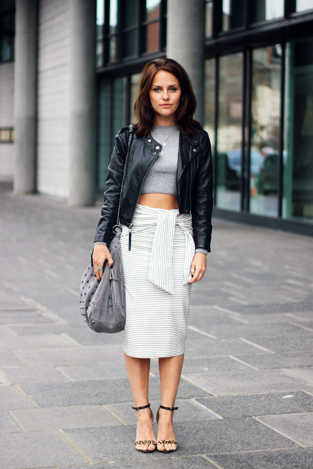 Zara Tie-Waist skirt  2