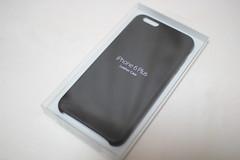 アップル純正のiPhone6 Plusレザーケースを買いました