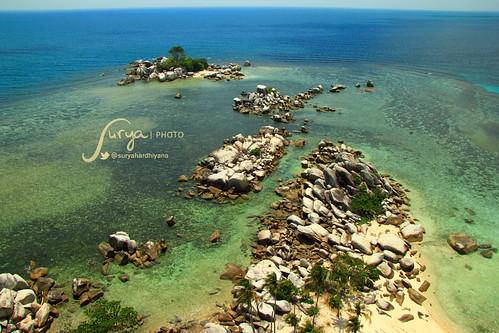 Pulau Batu di Sekitar Pulau Lengkuas, Belitung