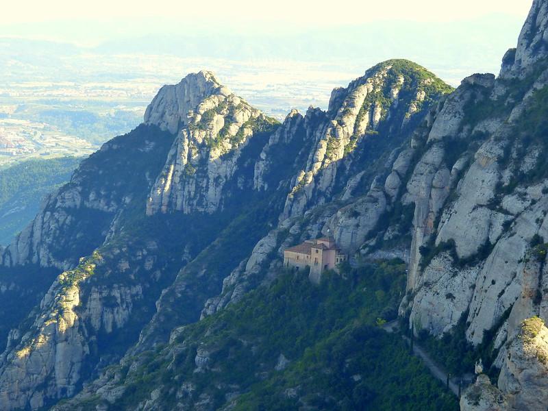 Montserrat, church