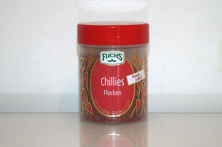 13 - Zutat Chiliflocken / Ingredient chili flakes