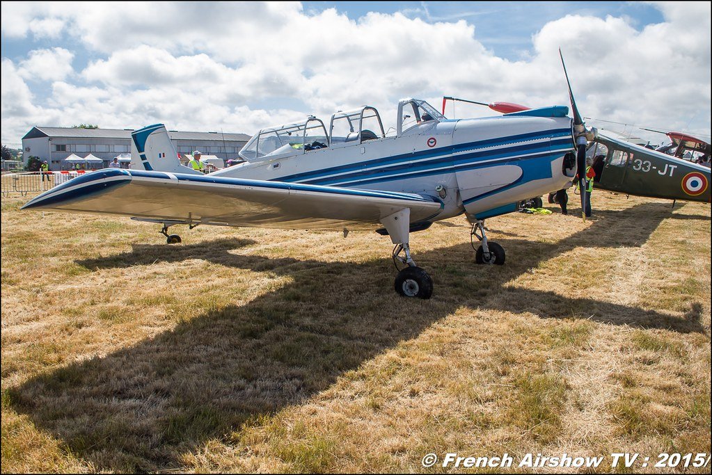 Nord 3202,F-AZJO,Fly'in Saint-Yan 2015,Fly in LFBK 2015, Meeting Aerien 2015