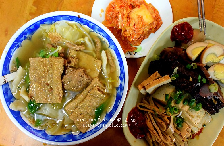 台中火車站美食.尹媽媽麵疙瘩11