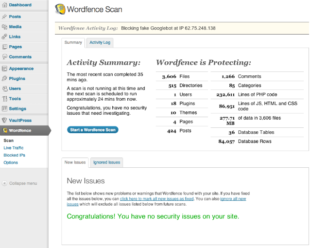 10 Most Popular WordPress Plugins from wordpress.org - Wordfence Security