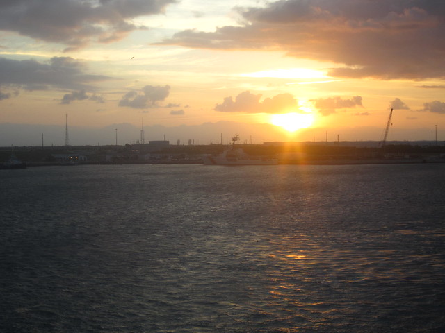 Sunrise in Cape Canaveral