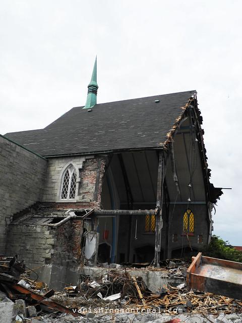 Eglise Notre-Dame-de-la-Paix demolition 6/06/14 17