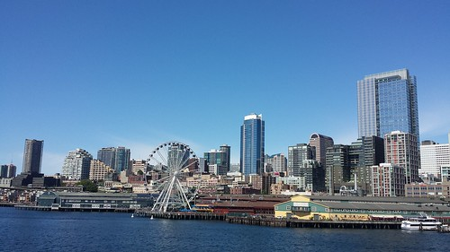 Seattle from Ferry 6