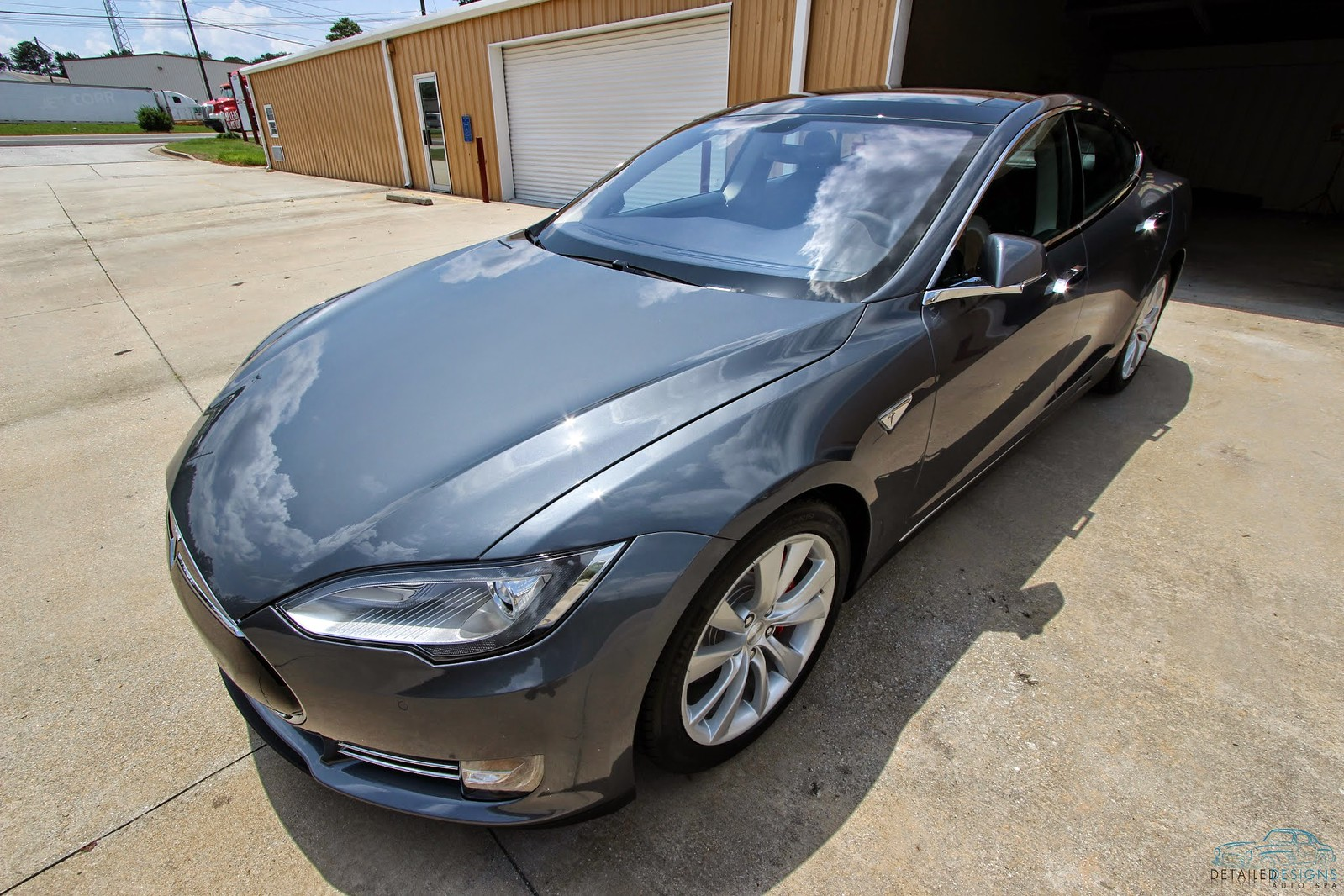 8056bb8f26 Tesla Model S Clear Bra Modesta BC-04 Atlanta Detailed Designs Auto Spa