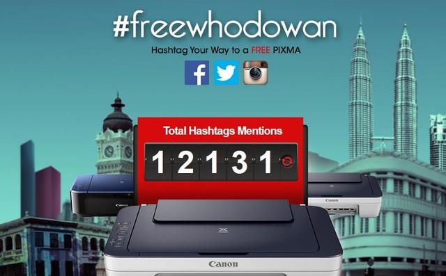 Freewhodowan Free Pixma Canon