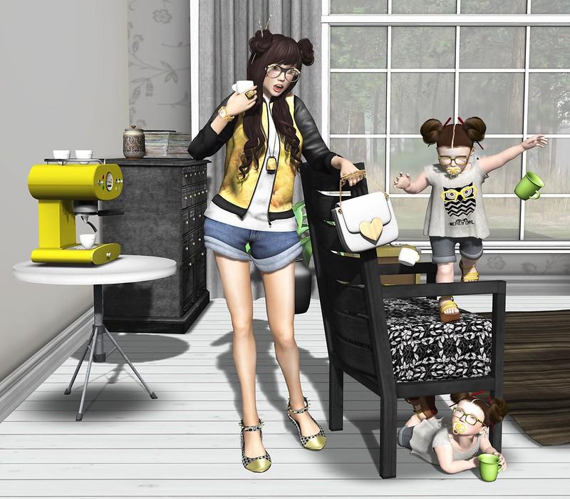 """Amelie et les petites: episode """"Bitter coffee"""""""