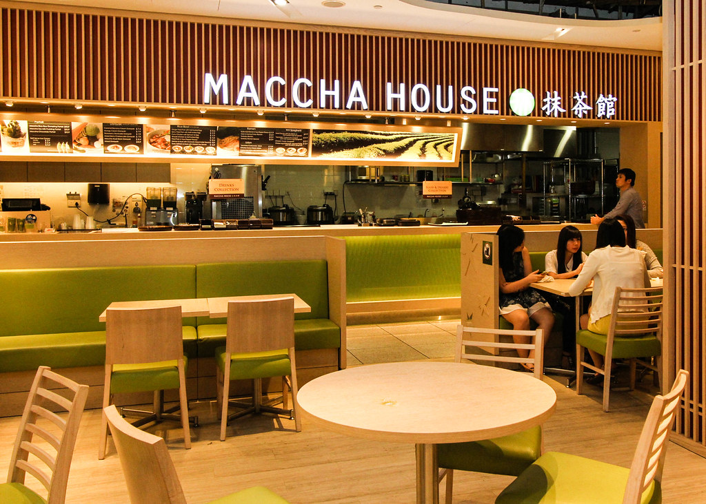 Orchard Central Food: Maccha House's Interior