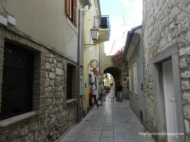 Город Крк Хорватия