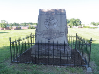 6/7/14 Cleanup of Dundalk's War of 1812 Monuments