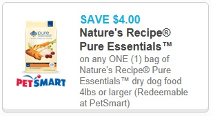 photograph regarding Bil-jac Coupons Printable titled $2/1 Bil-Jac Frozen Canine Meals and $4/1 Natures Recipe Natural