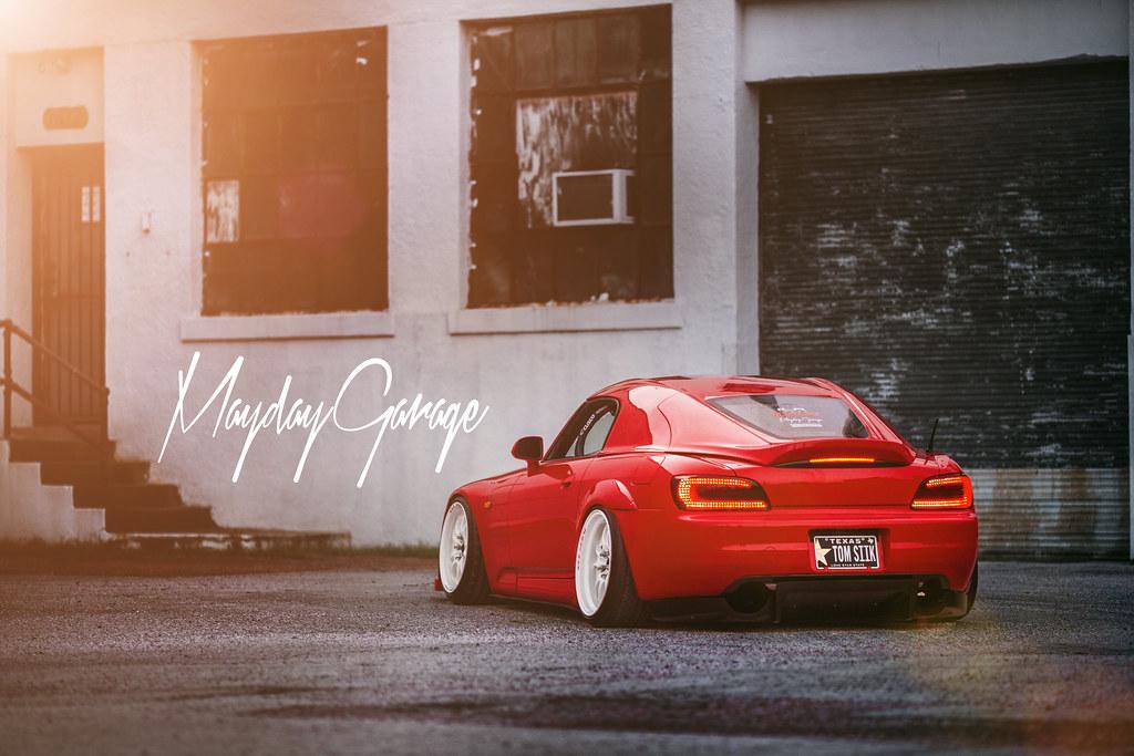 Car Shop Glow Mayday Garage