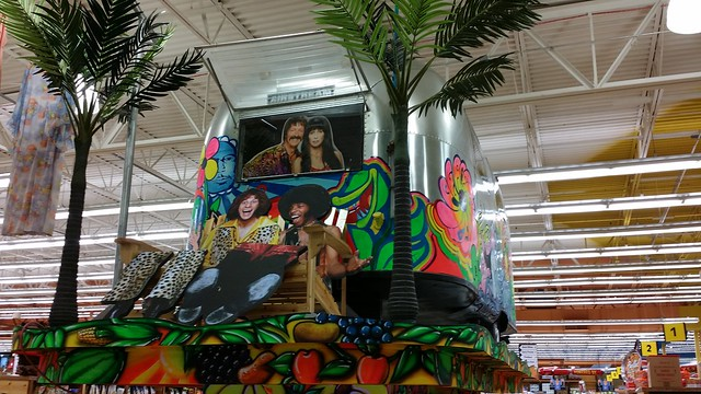 1970s themed trailer. Jungle Jim's, Ohio