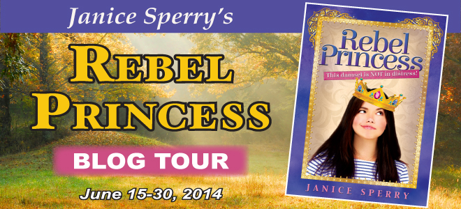 THE REBEL PRINCESS Blog Tour