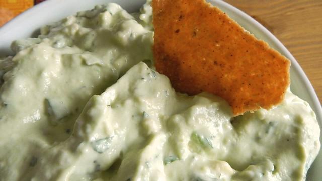 Creamy Mint Guacamole 12