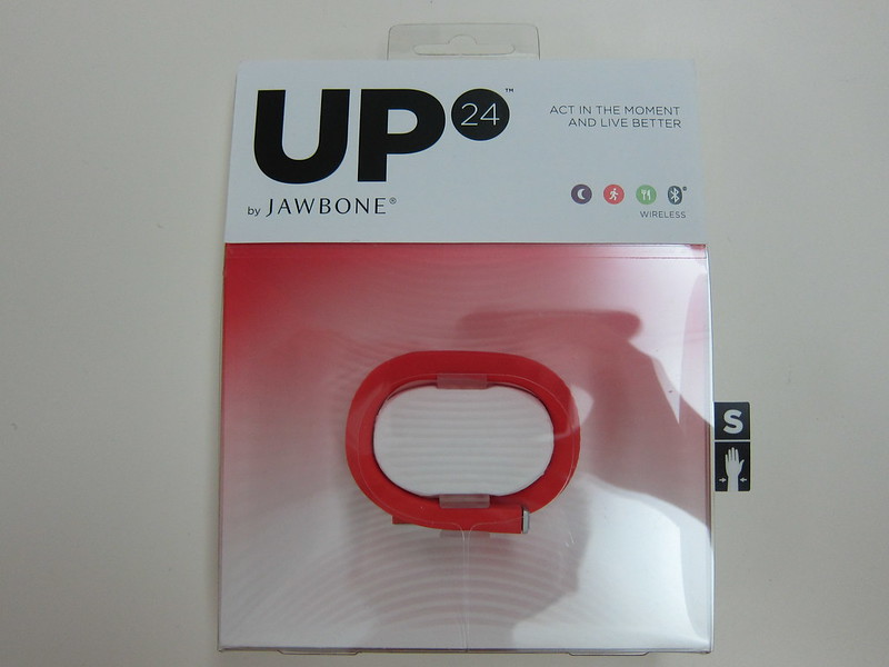 Jawbone UP 24 - Packaging Front