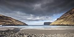 Beach Tjørnuvík - Streymoy Faroe Islands -