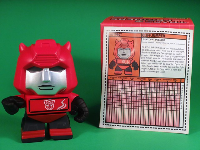 June 2014 Loot Crate Cliffjumper figure