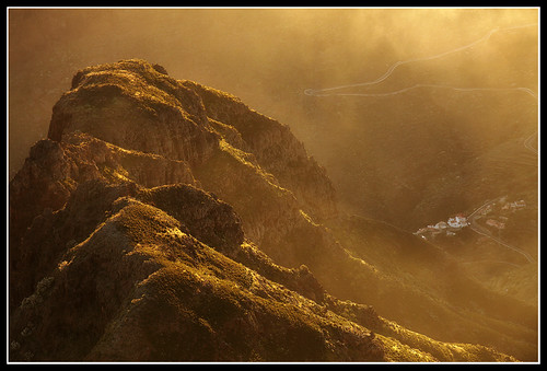 sunset cloud fog tenerife masca picoverde