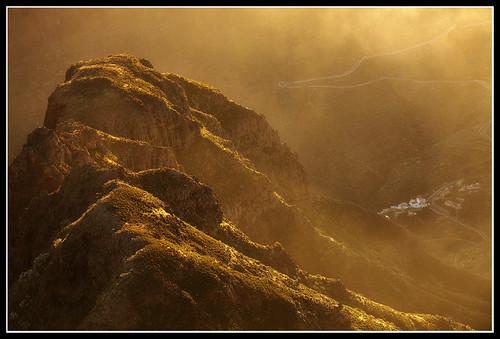sunset cloud fog tenerife masca picoverde