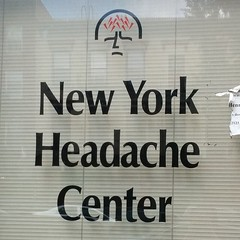 New York headache center. Not a shopping destination.