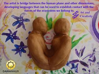 The artist is bridge