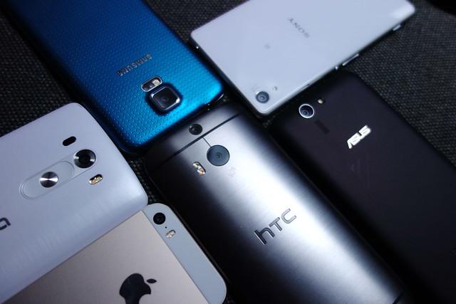 台灣手機達人鄭蛋蛋,比較 HTC、Sony、LG、三星旗艦機 低光源拍攝比較