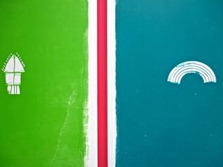 Romanzi, collana di Tunué edizioni. Progetto grafico di Tomomot; impaginazione di TunuéLab. Quarte di copertina [Peter, Barison] (part.), 1