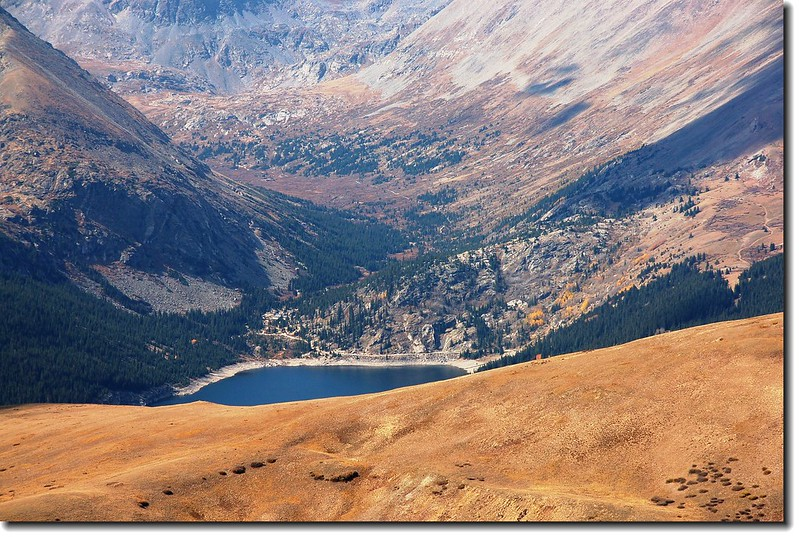 Montgomery Reservoir from Silverheels