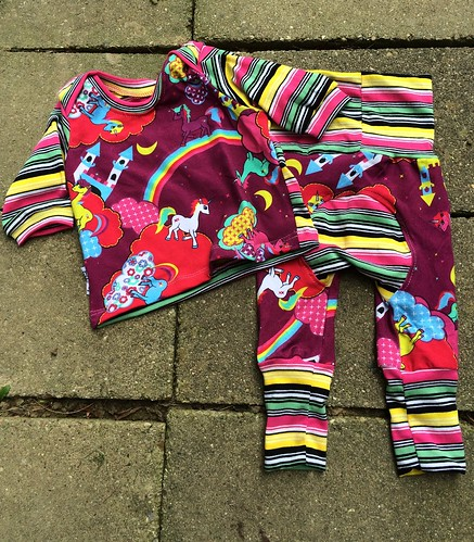 Bumstoppers BumSpot Pants 0-6 months 0-3 Lap Tee Unicorn in the Sky