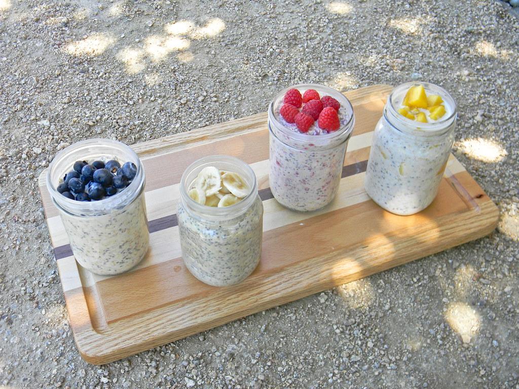 Blueberry, Raspberry, Banana, Mango Oatmeal