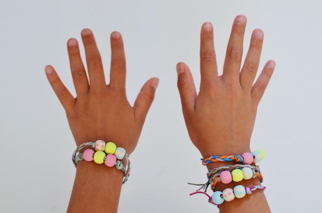 bead & braided friendship bracelet